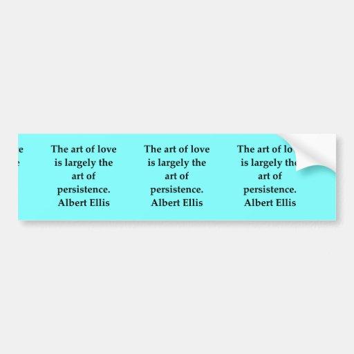 albert ellis quote bumper stickers