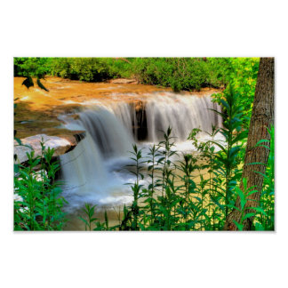 Albert Falls, West Virginia Poster