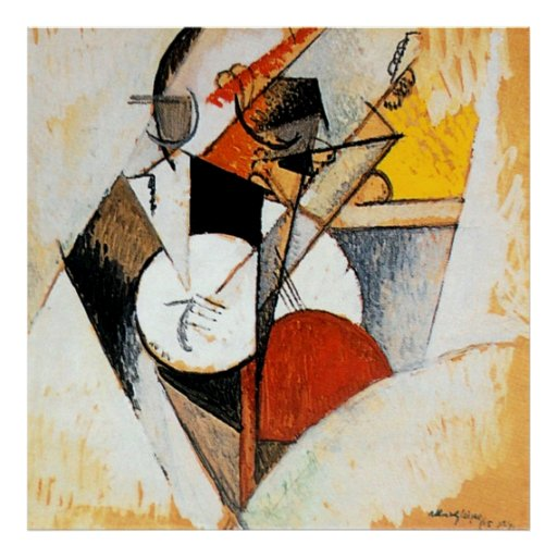 Albert Gleizes Jazz Composition Abstract painting Poster