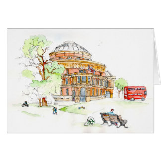 Albert Hall greeting card