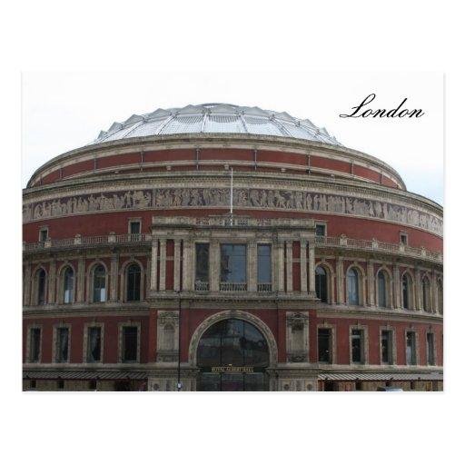 Albert hall postcard zazzle for Door 8 albert hall