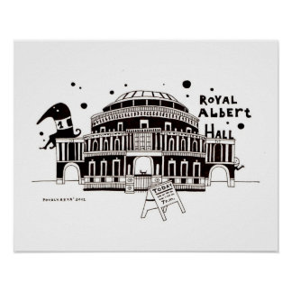 Albert Hall Poster