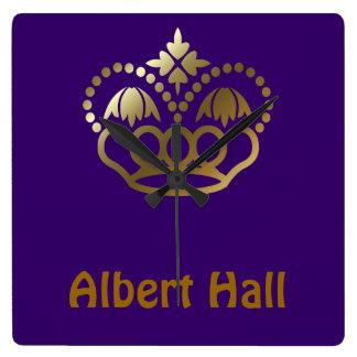 Albert Hall Square Wall Clock