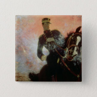 Albert I  King of Belgians in the First World 15 Cm Square Badge