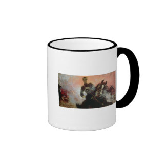Albert I  King of Belgians in the First World Ringer Mug