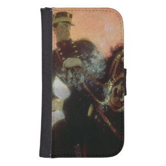 Albert I  King of Belgians in the First World Samsung S4 Wallet Case