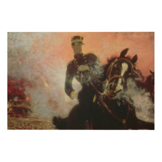 Albert I  King of Belgians in the First World Wood Print