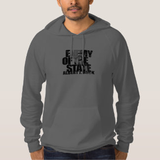 Albert J Enemy of the State Pullover Hoodie