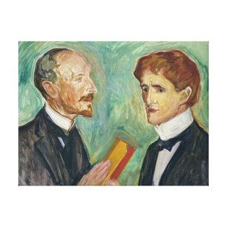 Albert Kollmann and Sten Drevsen Canvas Print