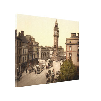 Albert Memorial Belfast County Antrim Gallery Wrap Canvas