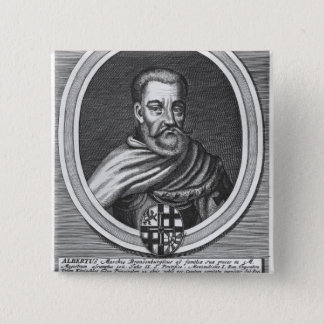Albert of Brandenburg 15 Cm Square Badge