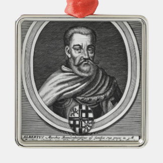 Albert of Brandenburg Christmas Ornament