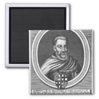 Albert of Brandenburg Square Magnet