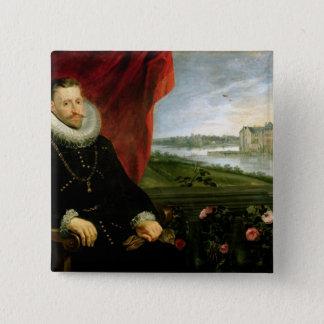 Albert of Habsbourg  Archduke of Austria 15 Cm Square Badge