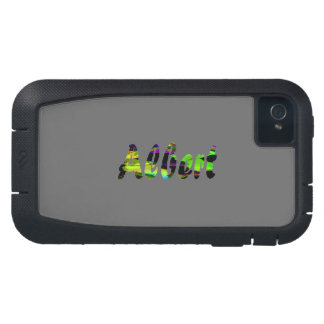 Albert Tough Xtreme Style iPhone 4 case in Gray