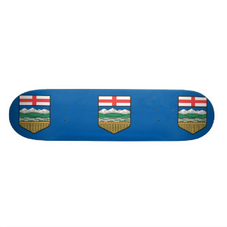 Alberta Alternate Version flag Skateboard
