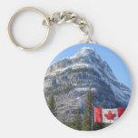 Alberta - BC Boarder Keychain
