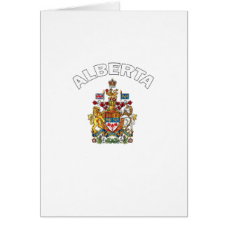 Alberta Canada Card