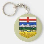 Alberta, Canada Keychains