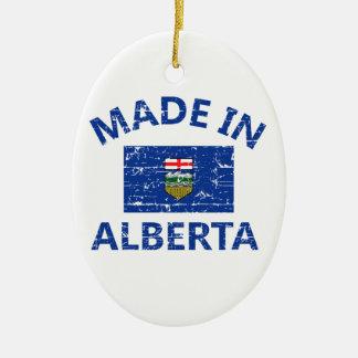 Alberta Coat of arms Ceramic Oval Decoration