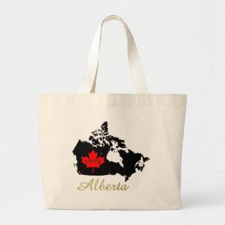 Alberta Customizable love Canada Province tote bag