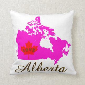 Alberta Customize Love Canada Province pillow