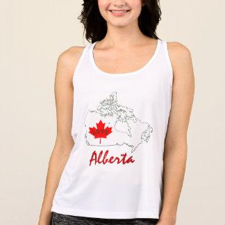Alberta Customize Love Canada province tank