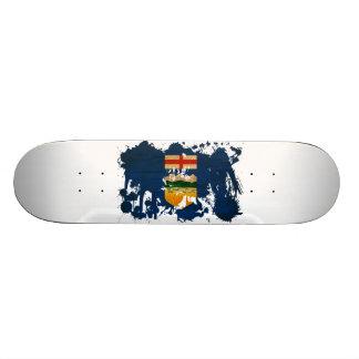 Alberta Flag 21.6 Cm Old School Skateboard Deck