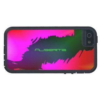 Alberta Green & Pink Tough Xtreme iPhone 5 case