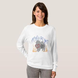 Alberta Keeshond Rescue Logo - Multi T-Shirt