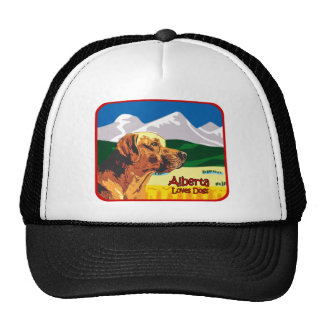 Alberta Labrador Trucker Hats