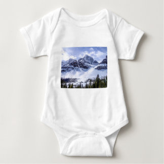 ALBERTA Mountains 1 Baby Bodysuit