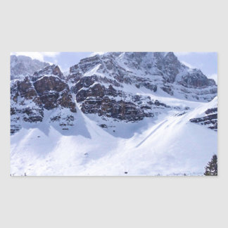 ALBERTA Mountains 1 Rectangular Sticker