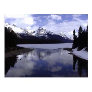 Alberta Rockies Canada Post Card