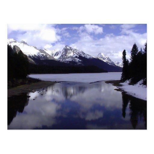 Alberta Rockies, Canada Post Card