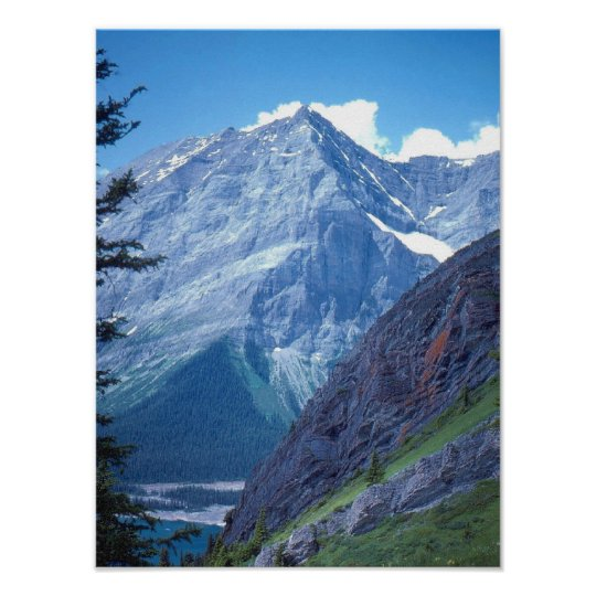 Alberta Rocky Mountains Poster