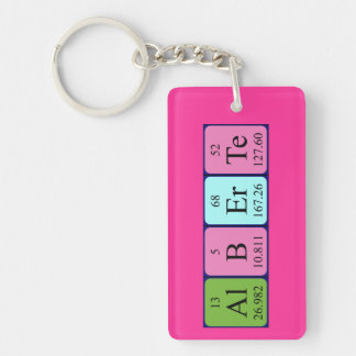 Alberte periodic table name keyring