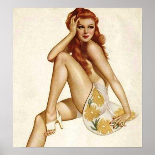 Alberto Vargas Pin Up Model's (Poster) Poster