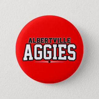 Albertville High School; Aggies 6 Cm Round Badge