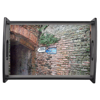 Albi France brick wall HFPHOT09 Serving Tray