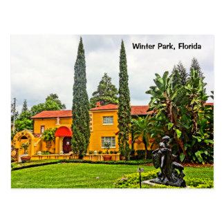 Albin Polasek Museum & Gardens Winter Park FL Postcard