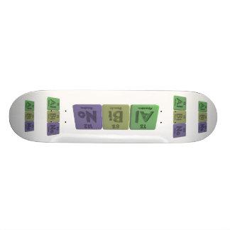 Albino-Al-Bi-No-Aluminium-Bismuth-Nobelium Skate Board