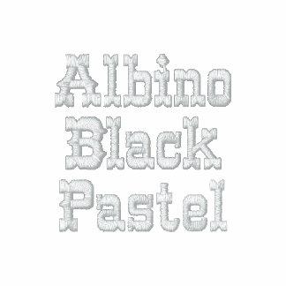 Albino Black Pastel AA Fleece Zip Jogger Jacket