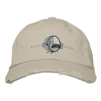Albino Oscar Fish - Customized Embroidered Hat