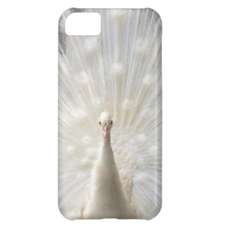 Albino Peacock design iPhone 5C Case