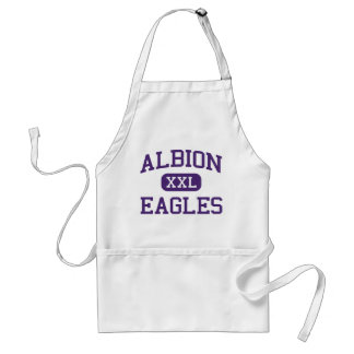 Albion - Eagles - High School - Albion New York Adult Apron