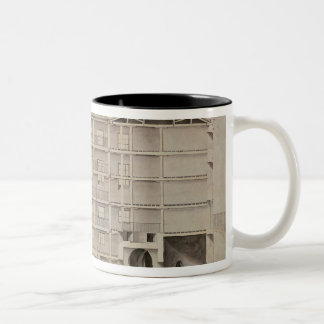 Albion Mill, section from east to west Two-Tone Coffee Mug