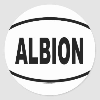 ALBION STICKER