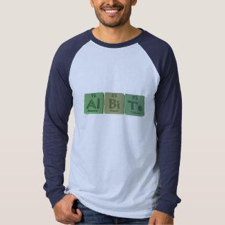 Albite-Al-Bi-Te-Aluminium-Bismuth-Tellurium T-shirts