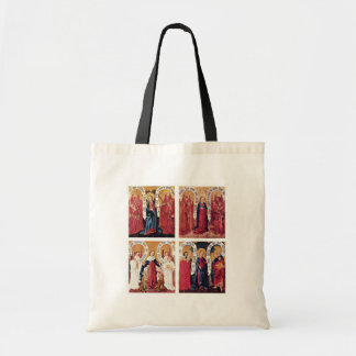 Albrecht Altar Left Inactive: 4 Panels For Litany Tote Bags